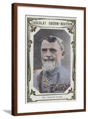 General Ferrie--Framed Art Print