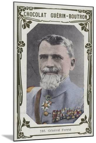 General Ferrie--Mounted Giclee Print
