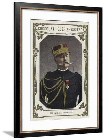 General Pendezec--Framed Art Print