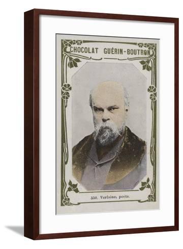 Verlaine, Poete--Framed Art Print