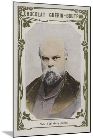 Verlaine, Poete--Mounted Giclee Print