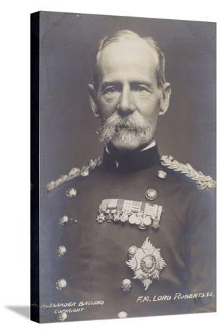 Field Marshal Earl Roberts--Stretched Canvas Print