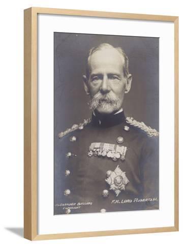 Field Marshal Earl Roberts--Framed Art Print