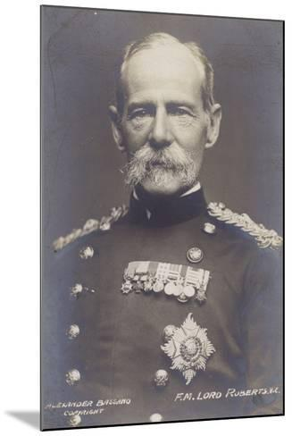 Field Marshal Earl Roberts--Mounted Photographic Print