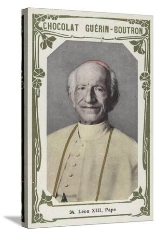 Leon XIII, Pape--Stretched Canvas Print