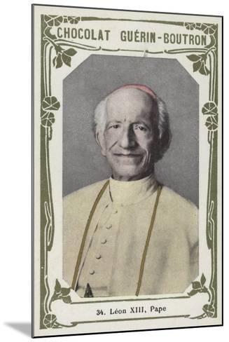 Leon XIII, Pape--Mounted Giclee Print