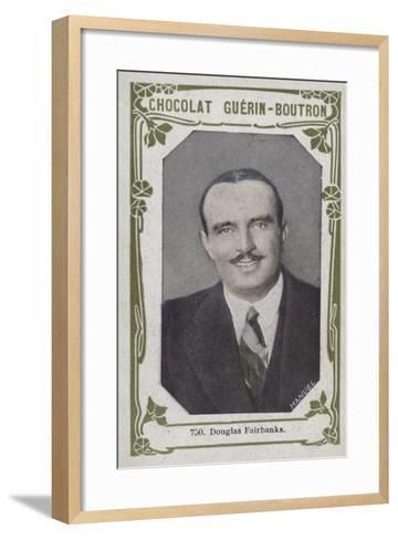 Douglas Fairbanks--Framed Art Print
