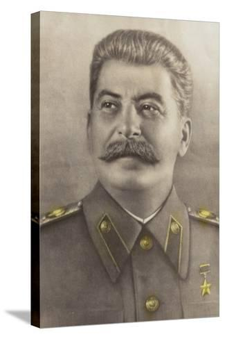 Stalin--Stretched Canvas Print