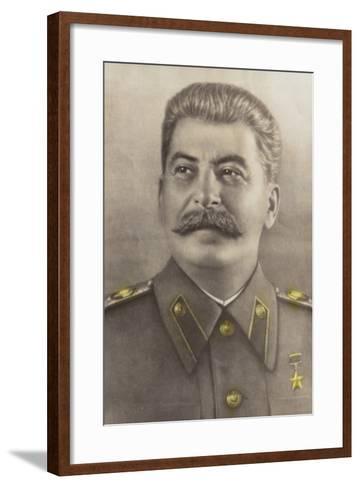 Stalin--Framed Art Print