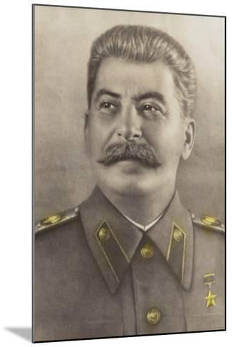 Stalin--Mounted Photographic Print