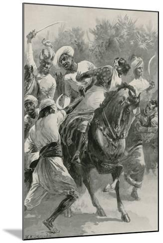 Mahratta Freebooters on a Raiding Expedition-William Heysham Overend-Mounted Giclee Print