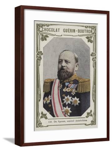 De Spaun, Amiral Autrichien--Framed Art Print
