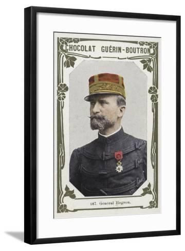 General Hagron--Framed Art Print