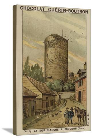 La Tour Blanche, a Issoudun, Indre--Stretched Canvas Print