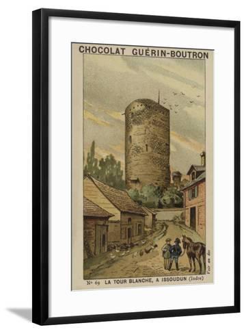 La Tour Blanche, a Issoudun, Indre--Framed Art Print