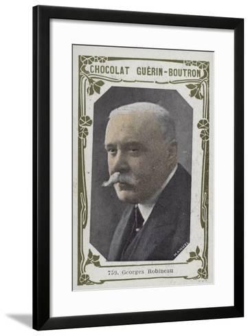 Georges Robineau--Framed Art Print