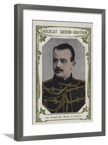 Grand Duc Boris, De Russie--Framed Art Print