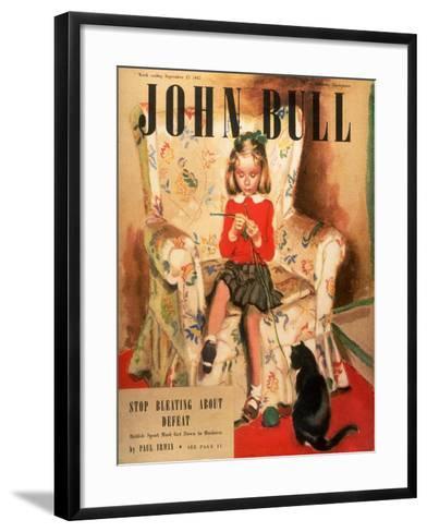 Front Cover of 'John Bull', September 1947--Framed Art Print