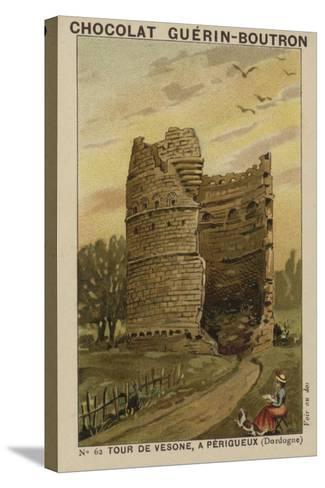 Tour De Vesone, a Perigueux, Dordogne--Stretched Canvas Print