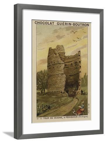 Tour De Vesone, a Perigueux, Dordogne--Framed Art Print
