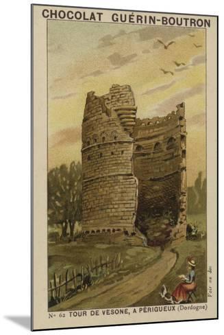Tour De Vesone, a Perigueux, Dordogne--Mounted Giclee Print