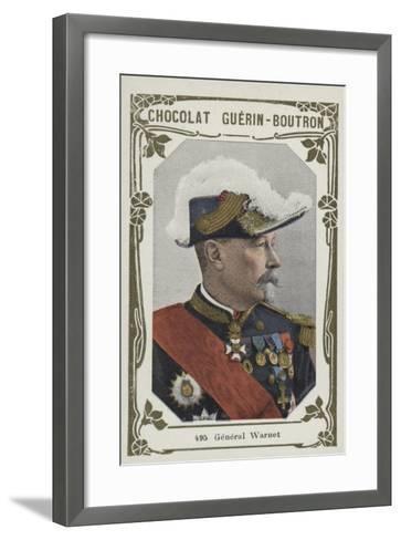 General Warnet--Framed Art Print