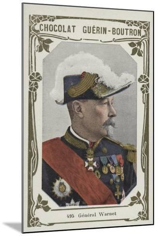 General Warnet--Mounted Giclee Print