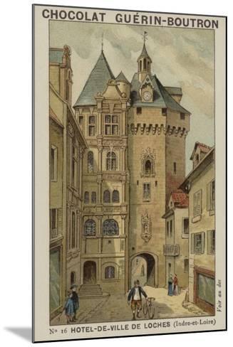 Hotel-De-Ville De Loches, Indre-Et-Loire--Mounted Giclee Print
