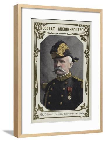 General Dubois, Gouverneur De Paris--Framed Art Print