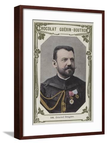 General Brugere--Framed Art Print