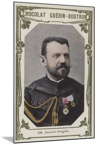 General Brugere--Mounted Giclee Print