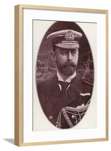 Rear Admiral Charles Edward Madden--Framed Art Print