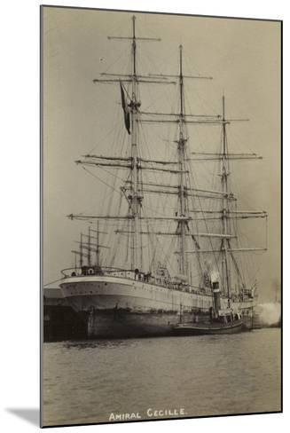 Amiral Cecille, French Bounty Ship--Mounted Photographic Print
