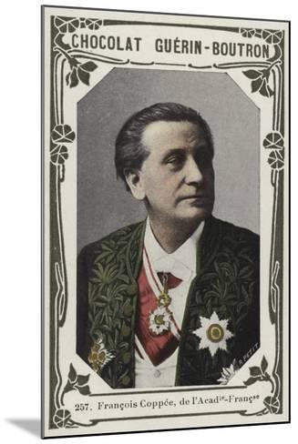 Francois Coppee, De L'Academie-Francaise--Mounted Giclee Print