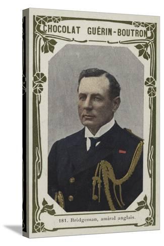 Bridgeman, Amiral Anglais--Stretched Canvas Print