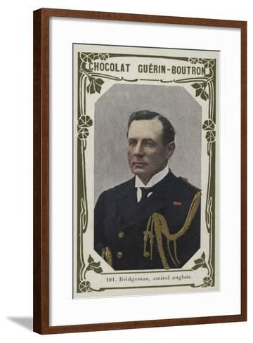 Bridgeman, Amiral Anglais--Framed Art Print