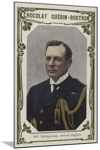 Bridgeman, Amiral Anglais--Mounted Giclee Print