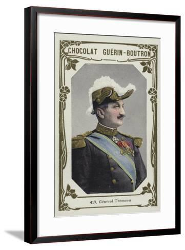 General Tremeau--Framed Art Print