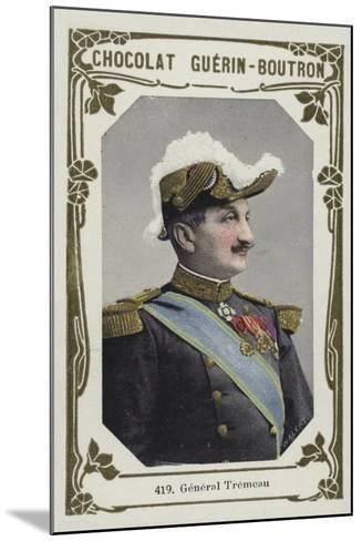 General Tremeau--Mounted Giclee Print