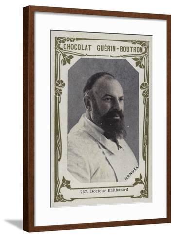 Docteur Balthasard--Framed Art Print
