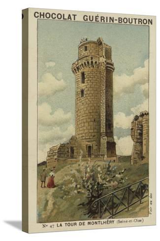 La Tour De Montlhery, Seine-Et-Oise--Stretched Canvas Print