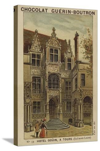 Hotel Gouin, a Tours, Indre-Et-Loire--Stretched Canvas Print
