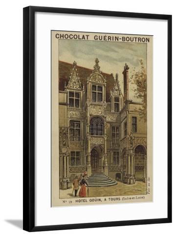 Hotel Gouin, a Tours, Indre-Et-Loire--Framed Art Print