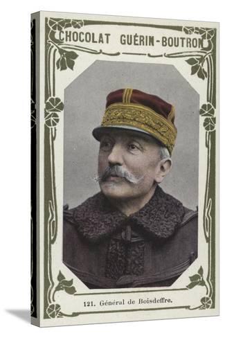 General De Boisdeffre--Stretched Canvas Print