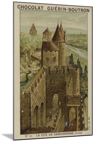 La Cite De Carcassonne, Aude--Mounted Giclee Print