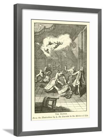 The Battle--Framed Art Print