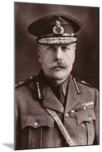 Earl Haig--Mounted Photographic Print
