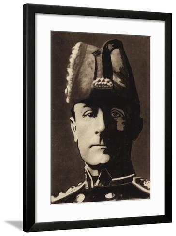 Admiral Sir John Jellicoe--Framed Art Print