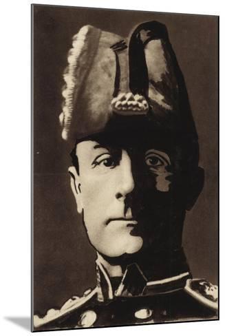 Admiral Sir John Jellicoe--Mounted Giclee Print
