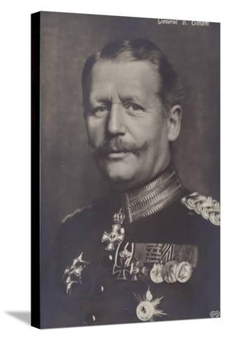 General Von Einem--Stretched Canvas Print